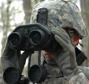 binoculares militares
