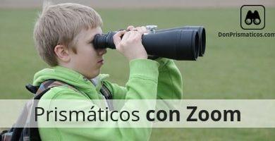 prismáticos con zoom