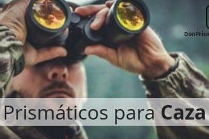 prismáticos para caza