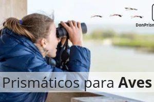prismáticos para observación de aves