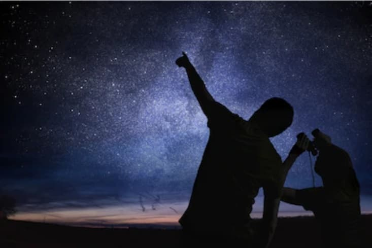 prismáticos para ver estrellas