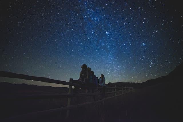 viendo estrellas