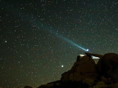 vistas de estrellas
